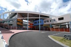 Lycée vue extérieur