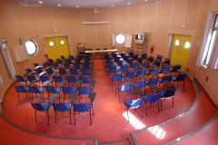 Salle ronde intérieur